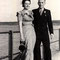 Als Brautführer an einer Hochzeit, ca. 1945