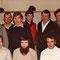 61. Geburtstag von H.U.Schwaar; Feier mit Sportkameraden, 1981