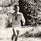 Einer der Brand Brüder (Schmitte Gohl) während eines OL Wettkampfes. H.U.Schwaar hat diese Spitzenläufer trainiert.
