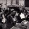 Amerikanische Weihnachtsfeier mit Schülerorchester
