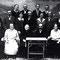 Familie Widmer aus Sumiswald; bei ihnen wuchs H.U.Schwaar auf