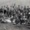 Schulreise in Sumiswald, ca. 4. Klasse. H.U.Schwaar 2. von rechts, 2. Reihe