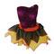 0054 Falda y blusa para baile popular. Pequeña, mediana. Varios colores. Merengue, salsa, bachata