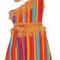 0028 Vestido rayas indígena