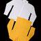 0041 Camisas blanca y amarilla. Grande.