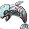 pseudo dolphin/whale (?) - 2013 Chiara Tomaini