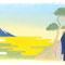 小学道徳『生きる力 3年、4年』『富士と北斎』/日本文教出版