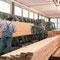 Die Holzkantenherstellung wird im Hause Schillinger selbst durchgeführt