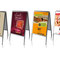 Affiches grands formats, déclinaison des flyers et stop trottoir