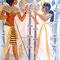 """Bühnenbild """"Tutanchamun und Anchesenamun"""" (1,5 x 2 m) - im Fundus"""