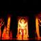 """Bühnenbild """"Naga Kanya"""", Szenenbild mit Nur el Zaman auf der Gala Oriental in Lippstadt, Foto: André Elbing - im Fundus"""