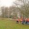 die Baumfäll-Methode braucht viel Abstand          Foto: I. Böttcher