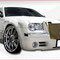 №_97_02 Grill Chrysler 300C  Rolls-Royce Style Gold Vertical Front VIP  ABS plastic $750