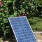Solarpanel für Versorgung der Wasserpumpe