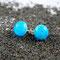 Hellblau mit Luftbläschen, ∅ ca. 10 mm