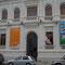 fachada de la casa de la cultura de santa cruz de la sierra en Bolivia