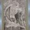 Androginia técnica: grafito y lapiz sobre cartulina de algodon 50cm x 70cm sin enmarcar