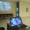 video de avatar cambiando de parametros fisicos parte de la exposicion bipersonal MI CUERPO: MI UNIVERSO