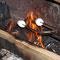 roasting the Marshmallows (in Kombination mit Bier wird einem schön schlecht!)