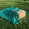 Neu: Netztasche in der Größe 2m x 2m Größe. Sie ist flach und an drei Seiten zusammengenäht.
