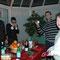 クリスマス・イブは顧問カウンセラーの方のご家族のお家にご招待されました