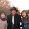 ロンドンで行われたヨーロッパに派遣された国際親善奨学生とロータリアンのコンファレンス1日目。ロンドンを皆で歩いて散策した時の写真。真ん中はブダペストのロータリアン、右側はアメリカ人奨学生。