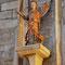 Marienkirche, Dortmund - Erzengel Michel, um 1320 aus Eichenholz 110 cm hoch