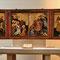 """Marienkirche, Dortmund - """"Berswordt-Altar"""" spätgotischer Flügelaltar um 1390 von der Familie Bersworth gestiftet, unbekannter Meister"""