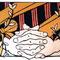 「予感」(春) 株式会社守屋 ホームページイラスト 紙、アクリル、色鉛筆 2006