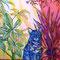 「ちいさな居場所」 キャンバス、アクリル  F20号  2015  (モデルルームの内装インテリア用に制作)