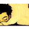 「目覚め」 木板、アクリル 9×62cm 2005