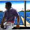 「窓辺」(春‐夏) 株式会社守屋 ホームページイラスト 紙、アクリル、色鉛筆 2007