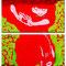 「シンパシー」 キャンバス、アクリル F0号×2枚 2010