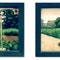 「春の日 午後2:30/2:31」 紙、アクリル 11×15cm×2枚組 2005
