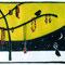 雑貨店 「flick」 HPトップページ・イラスト 紙、色鉛筆、アクリル 2004