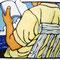 「爽涼」(夏) 株式会社守屋 ホームページイラスト 紙、アクリル、色鉛筆 2006