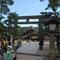 四の鳥居は、日本最古の銅製。