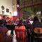 letzte Intensivprobe vorm Konzert in Salzburg 14.03.2013