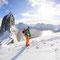 Vom Gipfel der Sega sind es immerhin 640 überhängende Meter bis ins Eismeer!