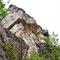 ... zeigt er uns den Kalkberget von der anderen Seite. Warum der Fels so heißt weiß ich nicht - Kalk gibt's da wirklich nicht ...