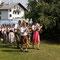 """Die """"Kapelle Kaiserschmarrn"""" eröffnete die Siegerehrung musikalisch."""