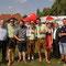 """2. Platz: Die Moosbacher Lokalmatadore vom Stammtisch """"D'Long Islander"""" mit Teamchef Joachim Gerner"""