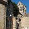 L'entrée de l'église d'Auvers-sur-Oise