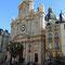 La façade de l'église Saint Paul - Saint Louis