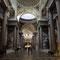 L'interno del Pantheon al livello principale
