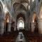 L'interno della chiesa d'Auvers-sur-Oise