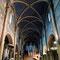 L'interno della chiesa Saint Germain-des-Prés