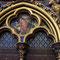 Un détail du décor de la chapelle haute