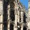 Dettaglio del decoro del Palazzo di Giustizia