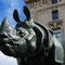 La scultura del Rinoceronte d'Alfred Jacquemart